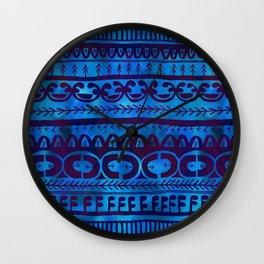 Noni-Blue Wall Clock