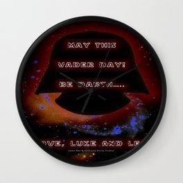 Vader Day - 023 Wall Clock