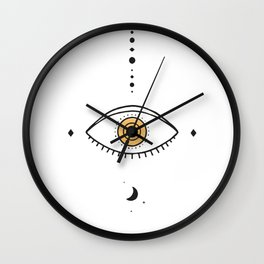 Universe Eye II Wall Clock