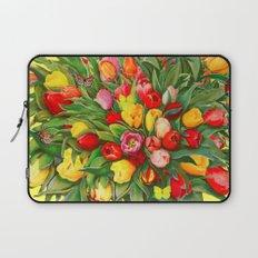 Tulip Bouquet Laptop Sleeve