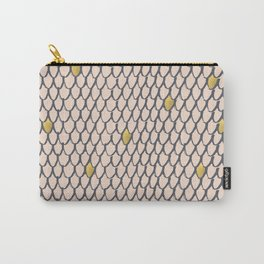 Baesic Golden Mermaid Scales Carry-All Pouch