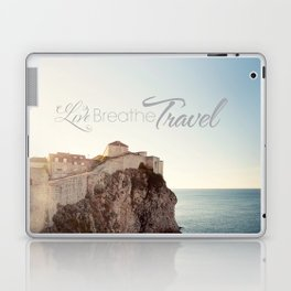 Live Breathe Travel - Dubrovnik, Croatia Laptop & iPad Skin