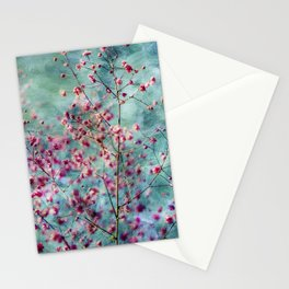 Pink Blossomss Stationery Cards