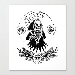 Garden Reaper Canvas Print