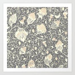 Floral Pillow3 Art Print
