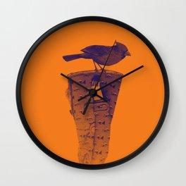 blind bird Wall Clock