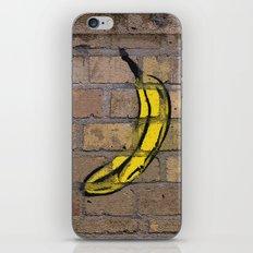 banana street art iPhone & iPod Skin