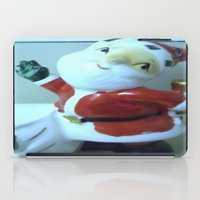 santa iPad Cases featuring Santa by Vintage  Cuteness