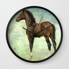 Bred for Beauty lt Wall Clock