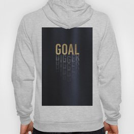 Goal Digger - Gold on Black Hoody