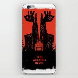 The Walking Dead. iPhone Skin