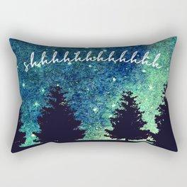 Shhhhhhhhhhh Rectangular Pillow