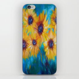 Sunflowers iPhone Skin