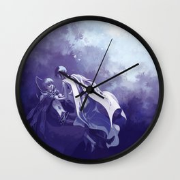 A KNIGHT AND HIS EMPEROR Wall Clock