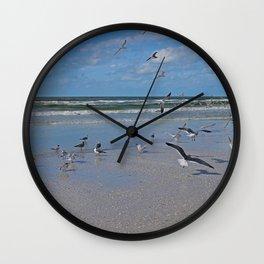 Beach Battalion Wall Clock