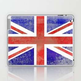 Grunge Union Jack Flag Laptop & iPad Skin