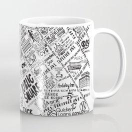 Cleveland Map Coffee Mug