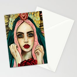 Every saint has a past , very sinner has a future Stationery Cards