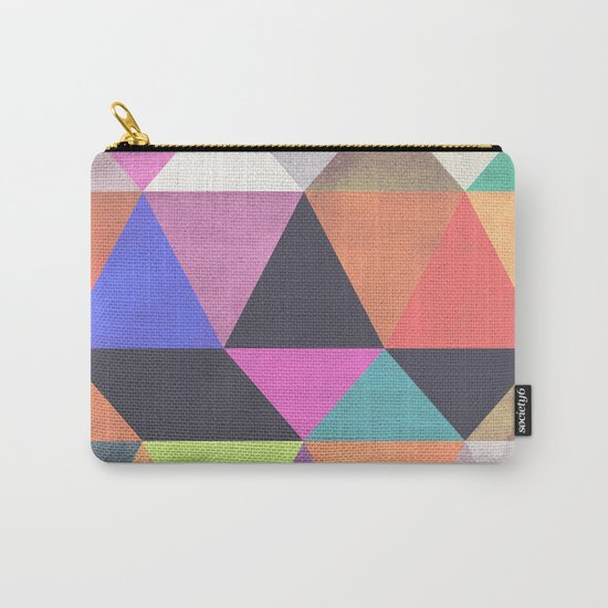 colour + pattern 12 Carry-All Pouch