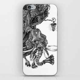 the wandering library 2 iPhone Skin