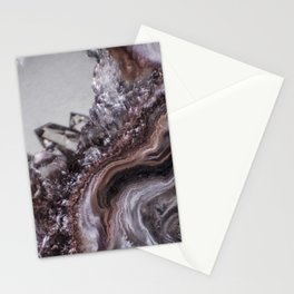 Tiny Agate and crystals Stationery Cards