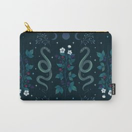 Serpent and Wild Berries Carry-All Pouch