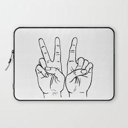 VI hands Laptop Sleeve