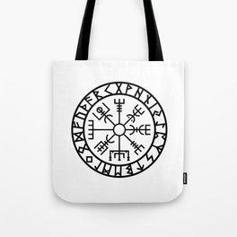 Vegvisir - Futhark - Runes - Navigator Tote Bag