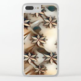 """Snowflake Beauty II"" Clear iPhone Case"