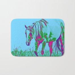 Pop Art Horse 1 Bath Mat