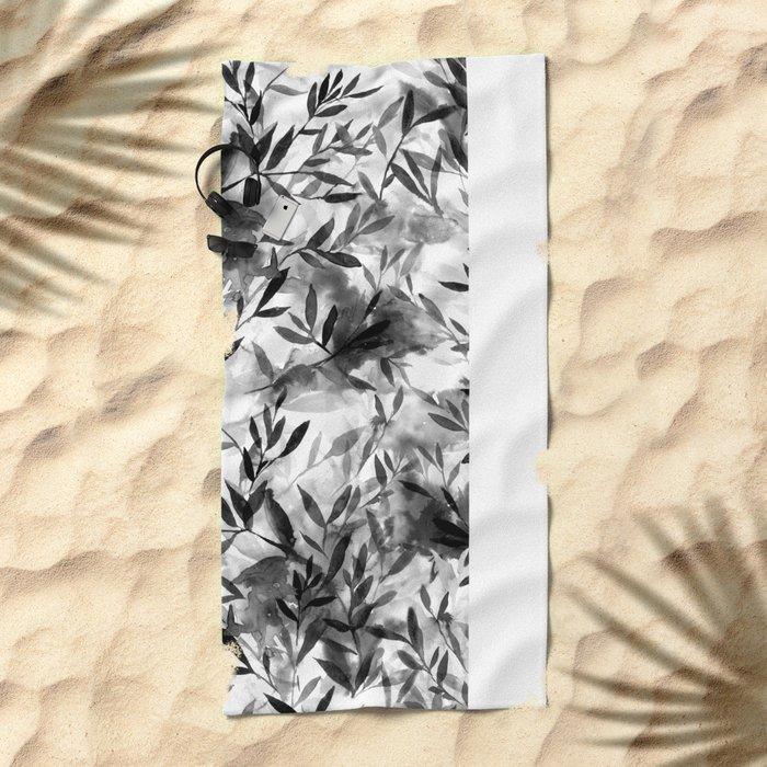 Changes BW Beach Towel