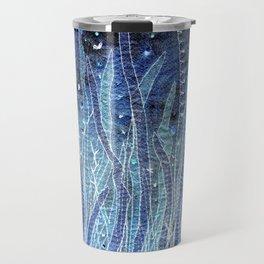 Blue grass Travel Mug