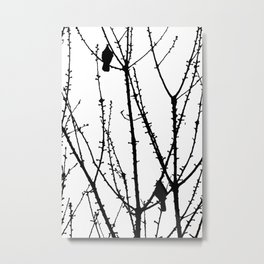 Two Birds Metal Print