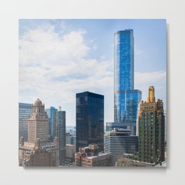 Architecture of Chicago Metal Print