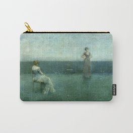 The Recitation by Thomas Wilmer Dewing - Victorian Belle Époque Retro Vintage Fine Art Carry-All Pouch