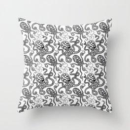 Octos Throw Pillow