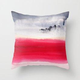 Martian bloom Throw Pillow