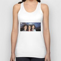 yankees Tank Tops featuring THE THREE GREAT LADIES by Kaitlin Smith