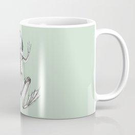 Frog Skeleton: Animal Anatomy Coffee Mug