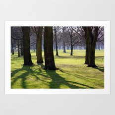2009 - Park (High Res) Art Print