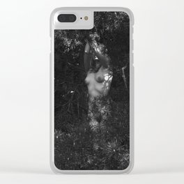 The Eyes of the Forest Clear iPhone Case