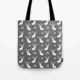 Jackelope of all Trades Pattern Tote Bag