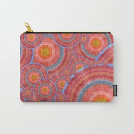 """Sci-fi rose gold abstract mandala pattern"" Carry-All Pouch"
