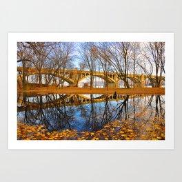 Reflective Moments Art Print