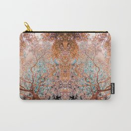 The Lungs of the Earth - Gold, Pink &Turquoise Carry-All Pouch