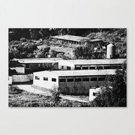 Industrial Spain Canvas Print