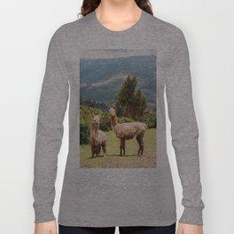 Llama Party Long Sleeve T-shirt