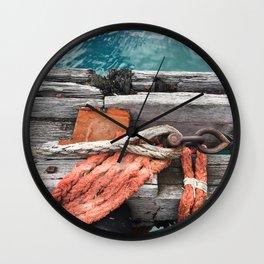Wharf Rope Wall Clock