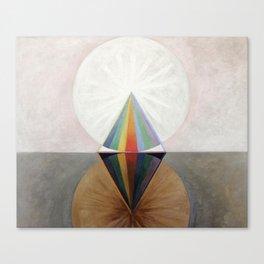 Hilma af Klint - Group IX/SUW No. 12, The Swan No. 12 Canvas Print