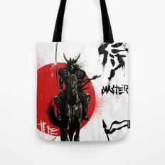Samurai Master Tote Bag